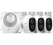 Thumbnail of EZVIZ W2D B2 Hub with C3A Camera Triple Pack