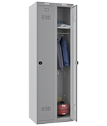 Thumbnail of Phoenix Double 1 Door Grey Locker - Combination Locking