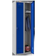 Thumbnail of Phoenix Double 1 Door Blue Locker - Key Locking