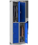 Thumbnail of Phoenix Double 2 Door Blue Locker - Key Locking