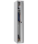 Thumbnail of Phoenix Single 1 Door Grey Locker - Combination Locking