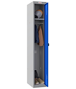Thumbnail of Phoenix Single 1 Door Blue Locker - Combination Locking