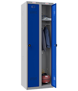 Thumbnail of Phoenix Double 1 Door Blue Locker - Combination Locking