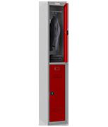 Thumbnail of Phoenix Single 2 Door Red Locker - Combination Locking