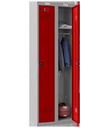 Thumbnail of Phoenix Double 1 Door Red Locker - Combination Locking