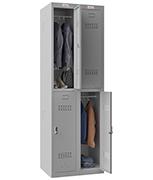 Thumbnail of Phoenix Double 2 Door Grey Locker - Electronic Locking