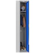 Thumbnail of Phoenix Single 1 Door Blue Locker - Electronic Locking