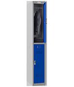 Thumbnail of Phoenix Single 2 Door Blue Locker - Electronic Locking