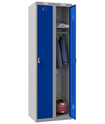 Thumbnail of Phoenix Double 1 Door Blue Locker - Electronic Locking