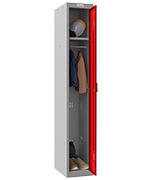 Thumbnail of Phoenix Single 1 Door Red Locker - Electronic Locking