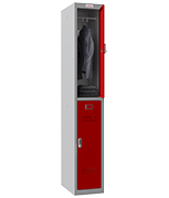 Thumbnail of Phoenix Single 2 Door Red Locker - Electronic Locking