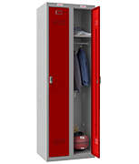 Thumbnail of Phoenix Double 1 Door Red Locker - Electronic Locking