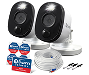 Thumbnail of Swann Outdoor HD 1080p Warning Light Thermal CCTV Camera (Twin Pack)