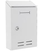 Thumbnail of Standard White - Indoor Steel Post Box
