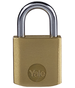 Thumbnail of Yale Y110B Essential 25mm Brass Padlock