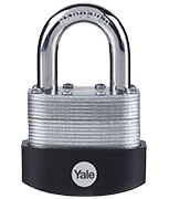 Thumbnail of Yale Y125B 50mm Laminated Steel Padlock