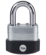 Thumbnail of Yale Y125B 60mm Laminated Steel Padlock