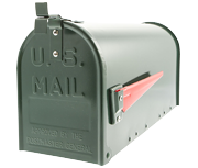 US Mail Box - Green