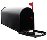 US Mailbox - Black
