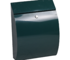 Thumbnail of Curvo Green - Steel Post Box