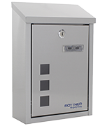 Casa Stainless Steel - Top Loading 7Ltr Small Post Box