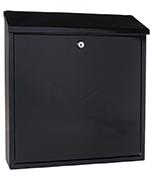Firenze Anthracite - Steel Post Box