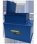 Churchill Gas Strut Size 1 - 39Ltr Under Floor Safe