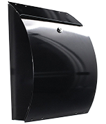 Thumbnail of Eleganza Anthracite - Steel Post Box