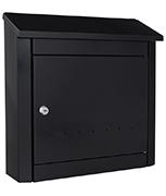 Trend Anthracite - Steel Post Box