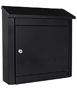 Thumbnail of Trend Anthracite - Steel Post Box