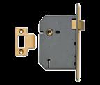 Thumbnail of Union 2657 - Upright Latch (77mm, Polished Brass)