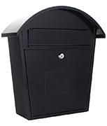 Jesolo Anthracite - Steel Post Box