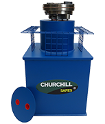 Thumbnail of Churchill Sapphire - 25Ltr Under Floor Deposit Safe