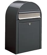 Bobi Classic Grey - Front Loading 32Ltr Large Post Box