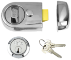 Yale Y3 - Standard Night Latch (60mm, Polished Chrome)