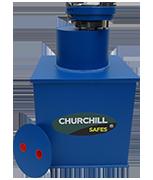 Churchill Vector V3 - 28Ltr Under Floor Safe