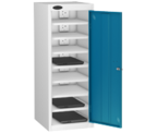 Thumbnail of Probe Eight Bay Blue Laptop Locker (charging)