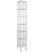 RMP 6 Door - Wire Mesh Locker