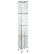 Thumbnail of RMP 4 Door - Extra Deep Wire Mesh Locker