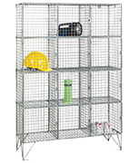 Thumbnail of RMP 12 Door - Wire Mesh Locker