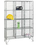 Thumbnail of RMP 12 Door - Extra Deep Wire Mesh Locker