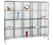 Thumbnail of RMP 20 Door - Extra Deep Wire Mesh Locker