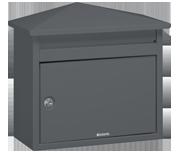 Thumbnail of Brabantia - B560 Dark Grey Post Box