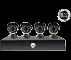 Yale Smart HD720 - 4 Camera CCTV Kit