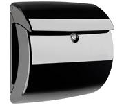 Piano High Gloss Black - Plastic Post Box