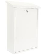 Thumbnail of Rhondda White - Steel Post Box