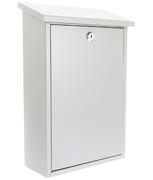 Thumbnail of Rhondda Silver - Steel Post Box
