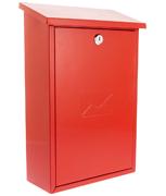 Thumbnail of Rhondda Red - Steel Post Box
