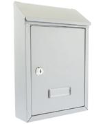 Thumbnail of Avon Silver - Rear Access Steel Post Box