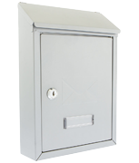 Thumbnail of Avon Silver - Rear Access Steel Post Box
